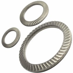 SCHNORR-Sicherungsscheiben Form S (Standard) Edelstahl A2