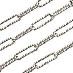 Kette 5 mm - langgliedrig DIN 763 Edelstahl A4