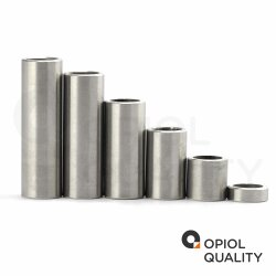 Distanzhülse 6x3,2x15 aus Aluminium