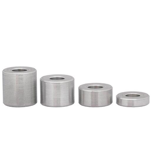Distanzhülse 15x8,5x8 aus Aluminium