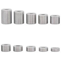 Distanzhülse 15x6,5x15 aus Aluminium