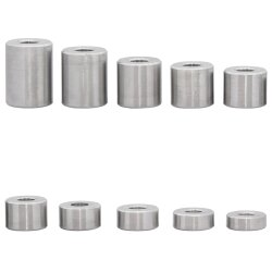 Distanzhülse 15x6,5x18 aus Aluminium